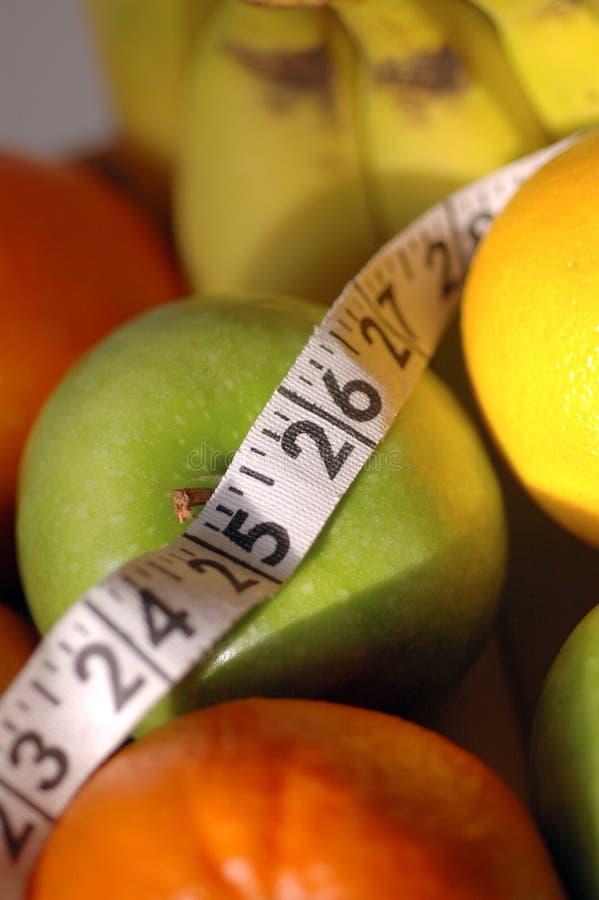 Control de la dieta imagen de archivo libre de regalías
