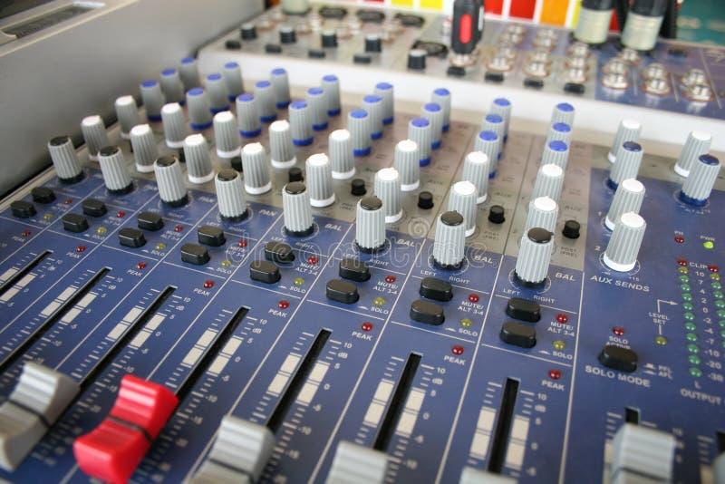 Control de la música imagen de archivo