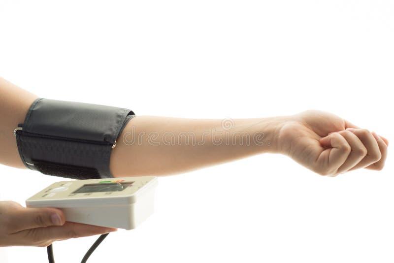 Control de presión arterial imagenes de archivo