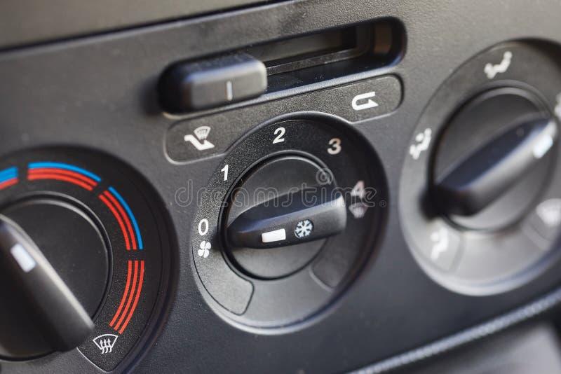 Control del clima del coche fotos de archivo libres de regalías