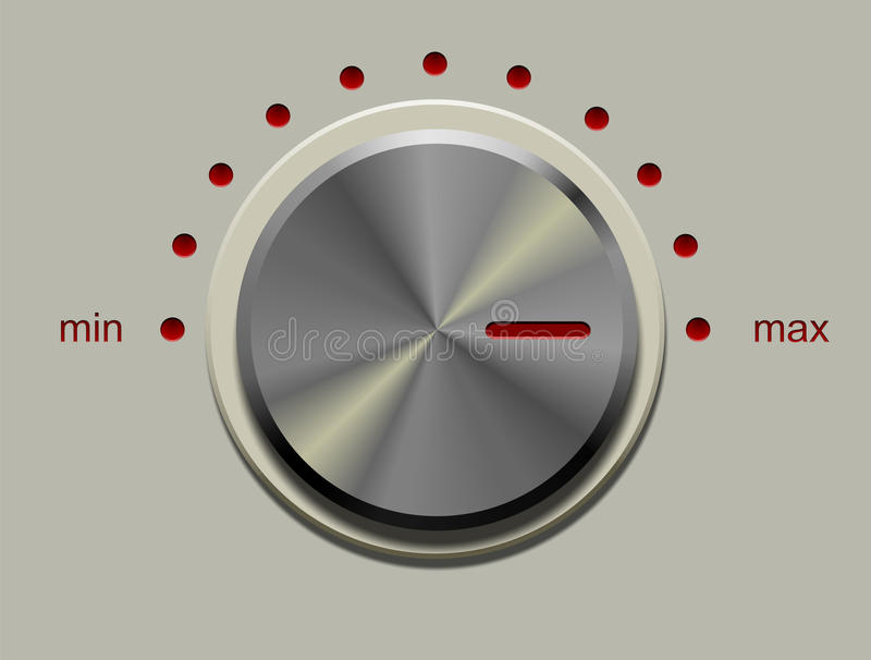 Control Knob Royalty Free Stock Image