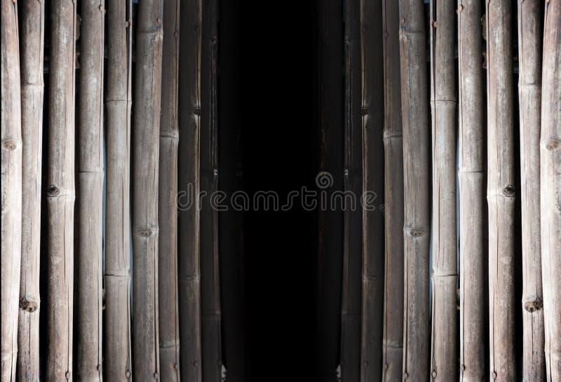 Download Control Negro Entre El Panel De Bambú Viejo Imagen de archivo - Imagen de ramificación, puente: 44851527