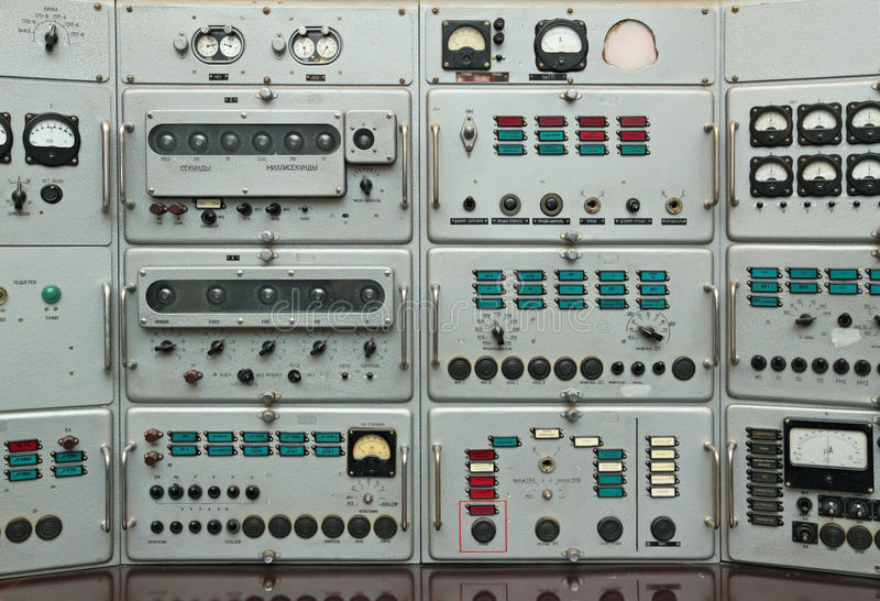 Download Control Panel Stock Photo - Image: 12973690