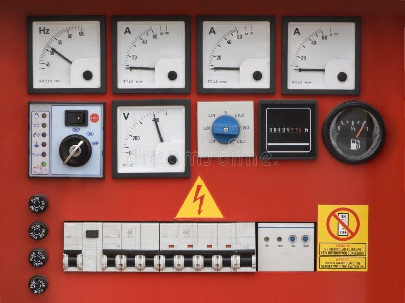 Download Control panel stock image. Image of power, meter, warn - 5012407
