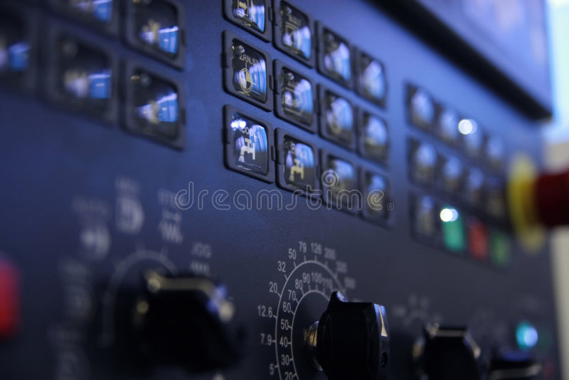 Control panel. royalty free stock photos
