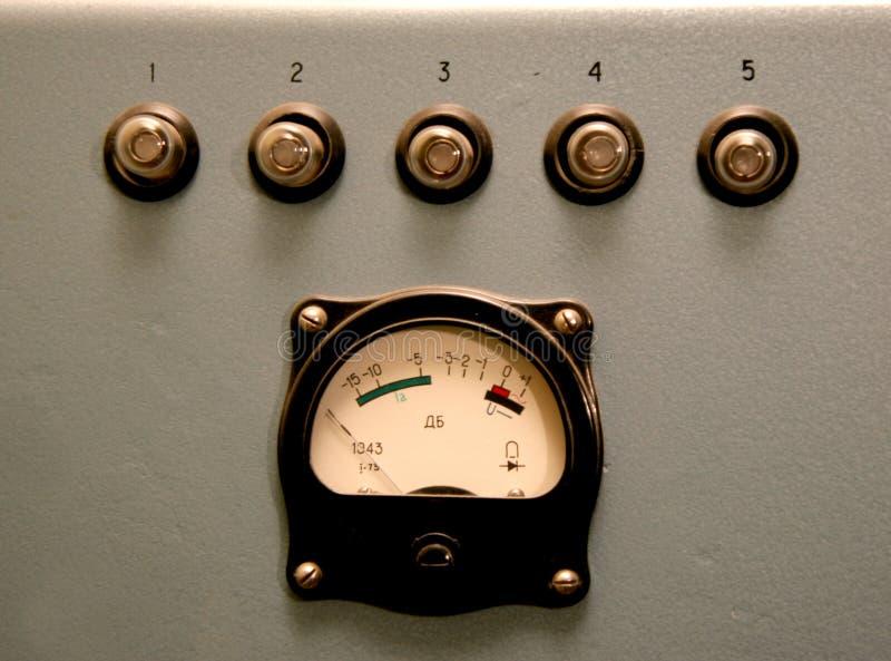 control retro sound στοκ εικόνες με δικαίωμα ελεύθερης χρήσης