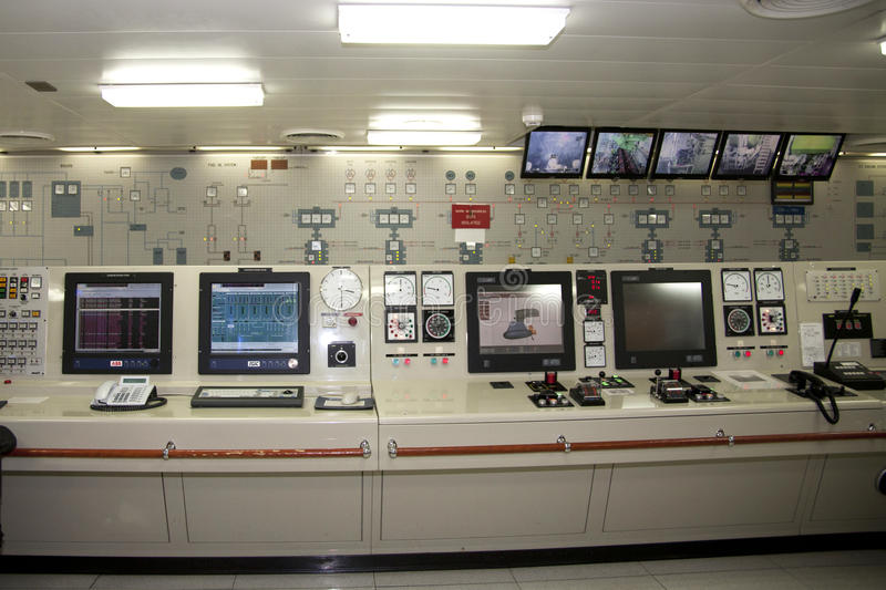 Control Room for Ships Engineer