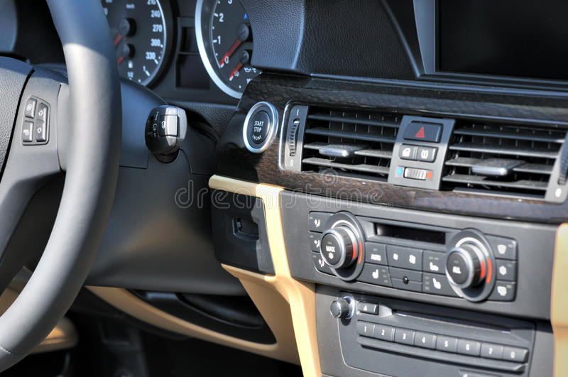 Download Control System Of Saloon Car Stock Photo - Image of transportation, industry: 23355200