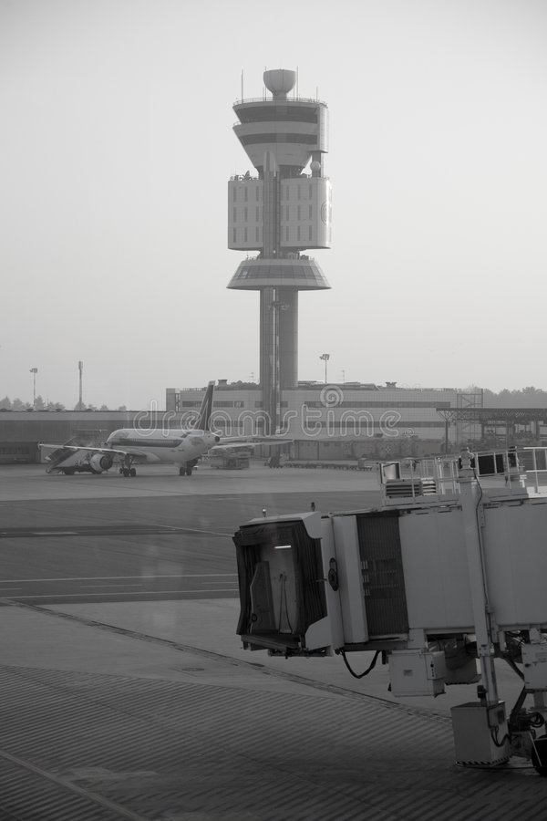 Free Control Tower Royalty Free Stock Image - 5714176