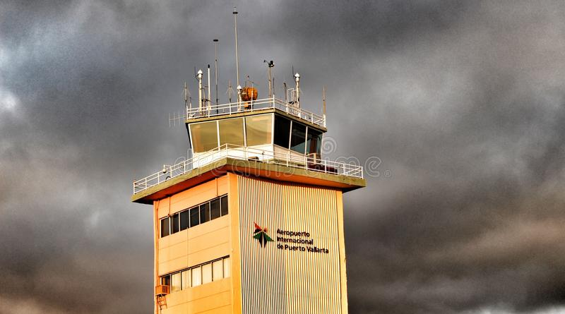 Control tower stock photography