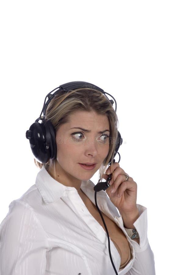 Controlador aéreo imagem de stock royalty free