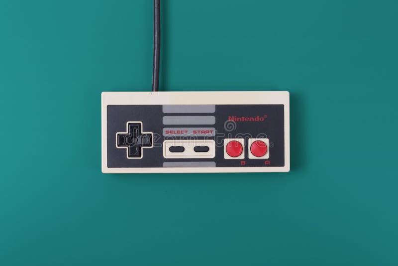 Controlador de NES fotografia de stock royalty free