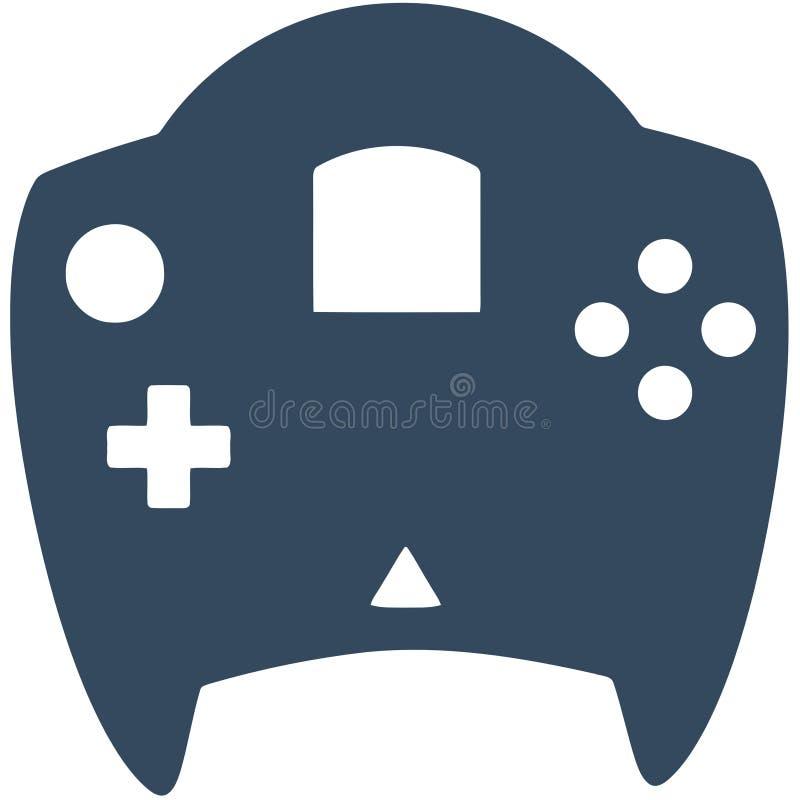 Controlador do jogo de Dreamcast fotografia de stock