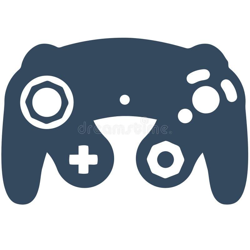Controlador do jogo de Gamecube fotos de stock royalty free
