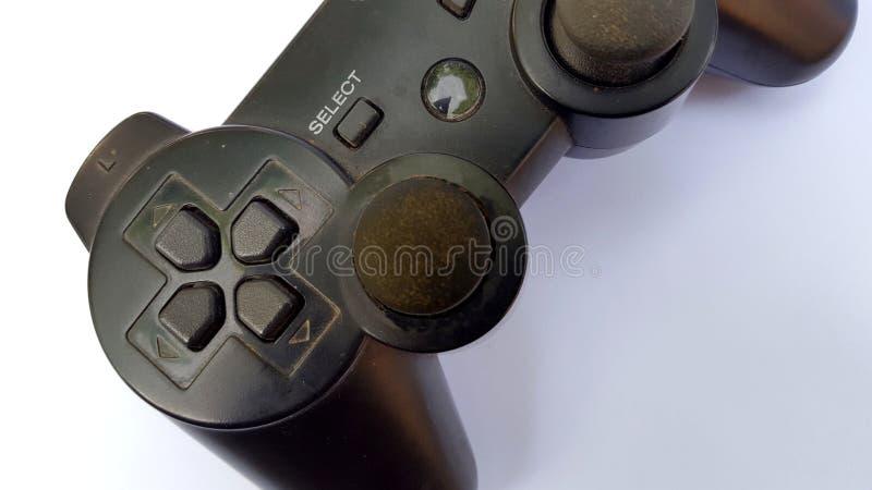 Controlador do jogo, equipamento para jogar jogos para uma experiência melhor do jogo fotografia de stock
