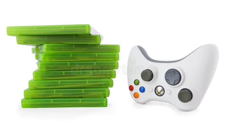 Controlador do jogo para Xbox imagens de stock royalty free