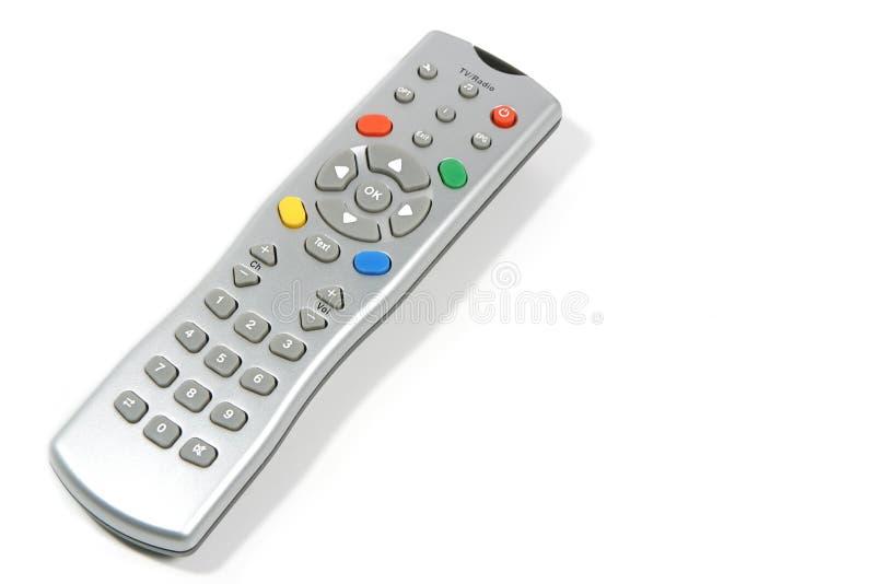 Controlador do telecontrole da televisão fotos de stock