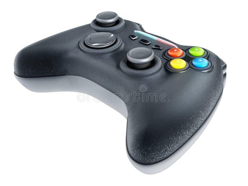 Controlador genérico do jogo isolado no fundo branco ilustração 3D ilustração royalty free