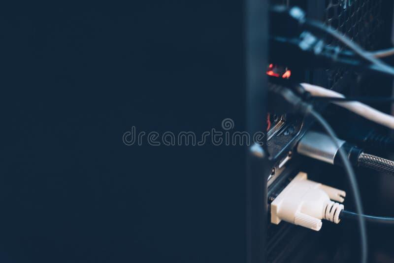Controlador pessoal do anfitrião da unidade do sistema informático imagens de stock