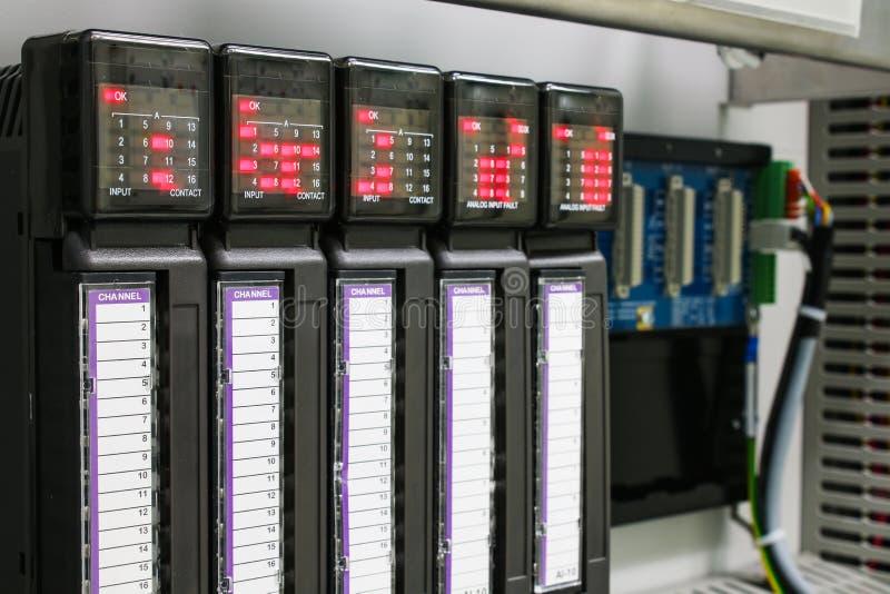 Controlador programável da lógica imagens de stock royalty free