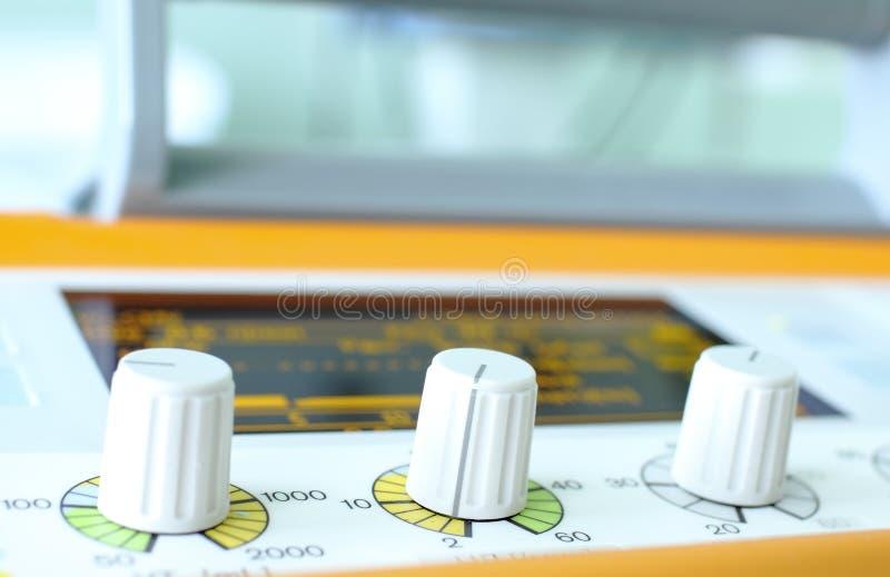 Controladores do ventilador. imagens de stock