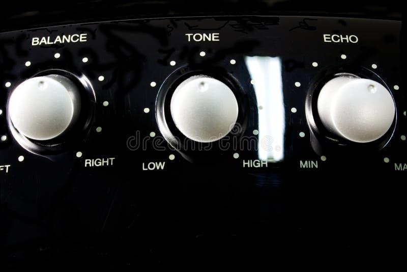 Download Controle audio imagem de stock. Imagem de controle, botão - 53347