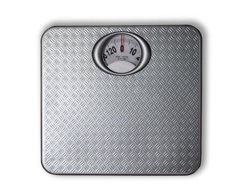 Controle de peso foto de stock