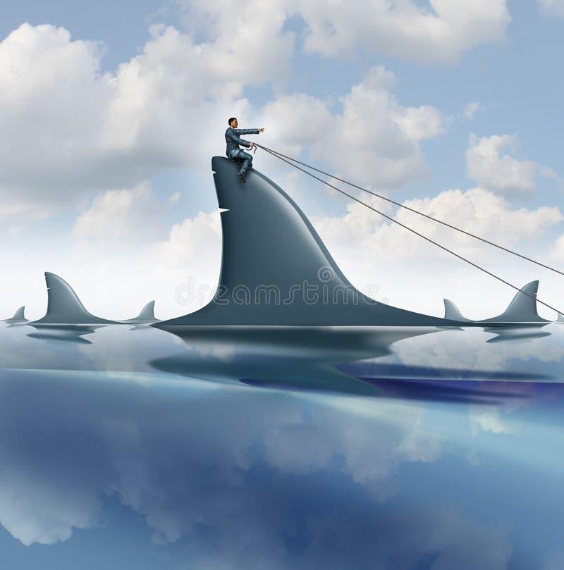 Controle de risco ilustração royalty free