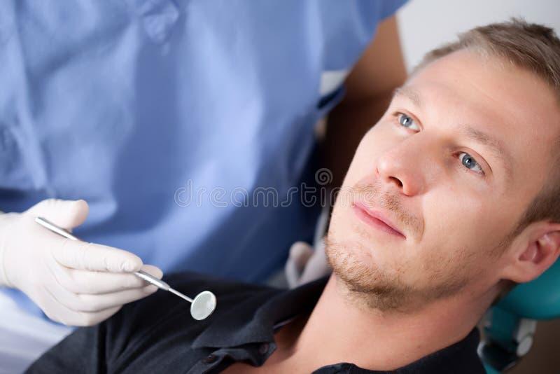 Controle dental fotos de stock royalty free