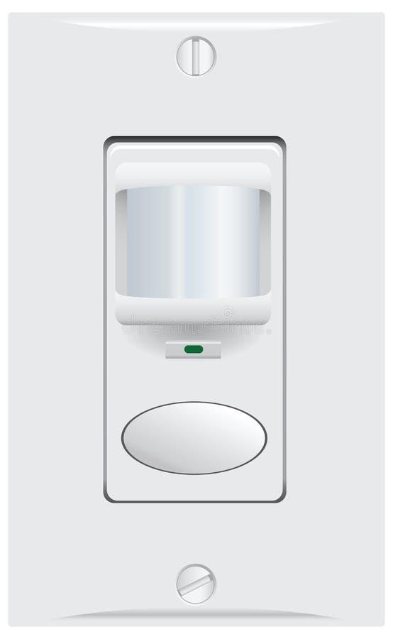 Controle el sensor del interruptor de la pared libre illustration