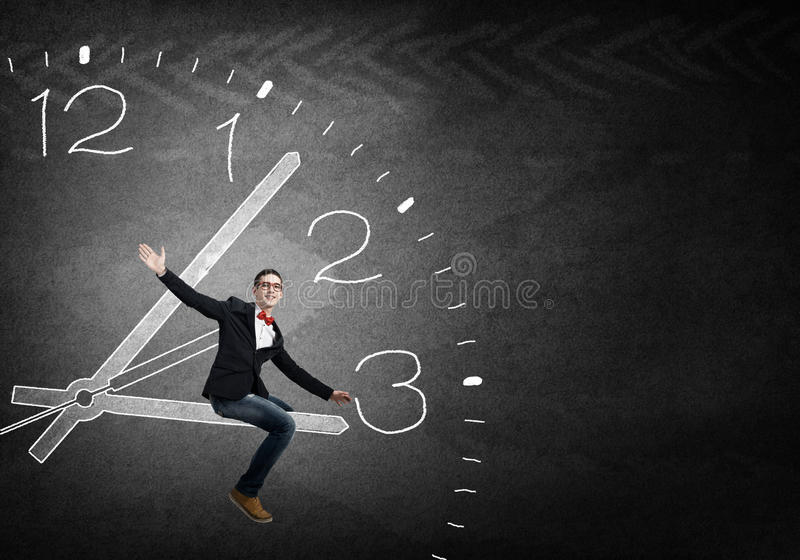 Controle seu tempo imagens de stock royalty free