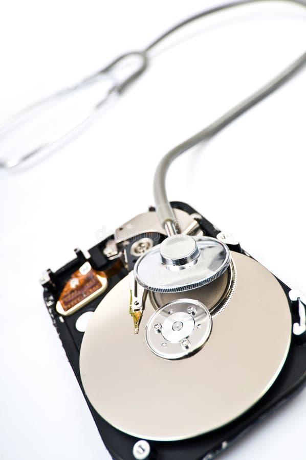 Controle sus datos fotografía de archivo libre de regalías