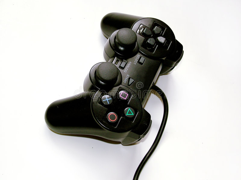 Controler de jeu photo stock