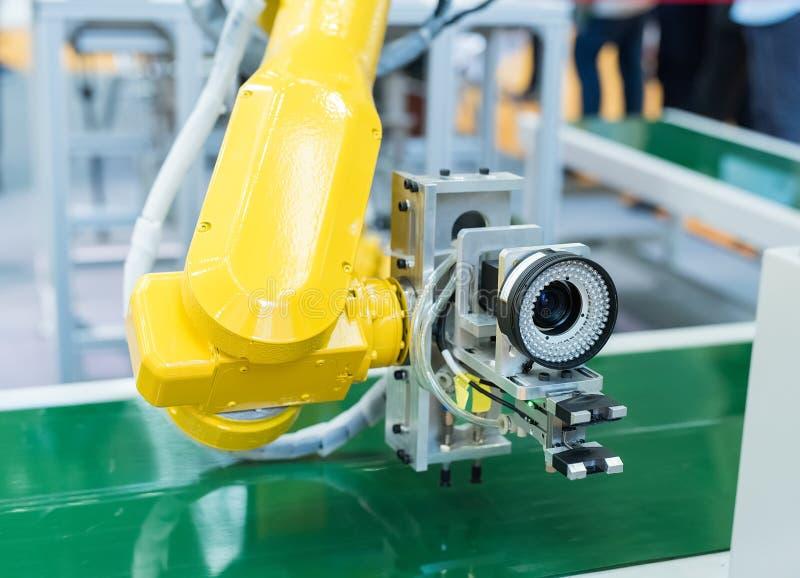 Controler mechaniczna ręka zdjęcia stock