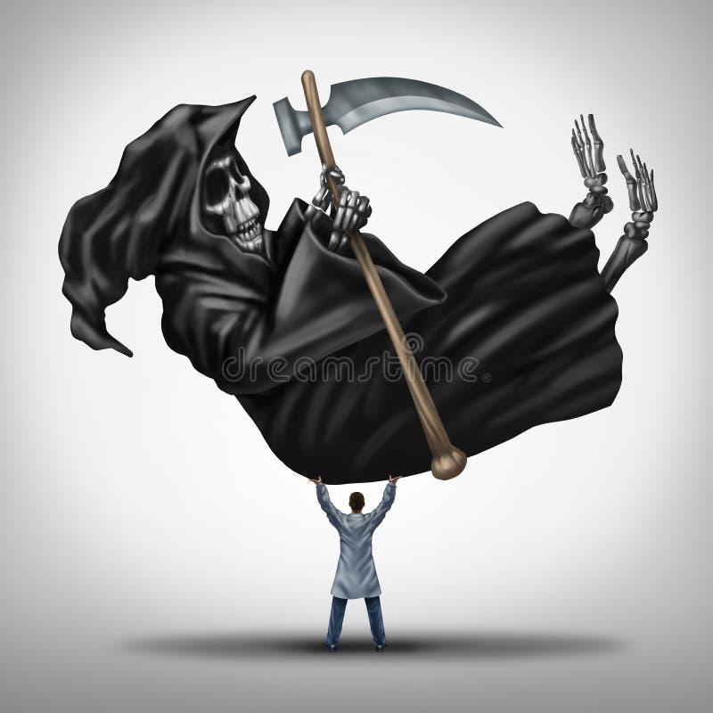 Controlerende Dood stock illustratie