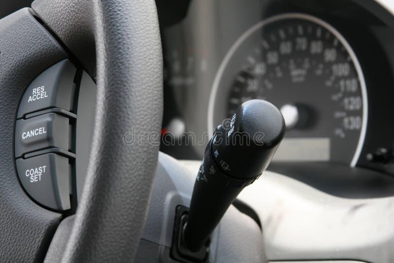 Controles del coche fotos de archivo