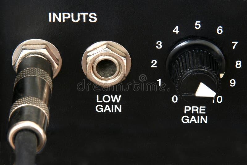 Controles do ampère imagens de stock