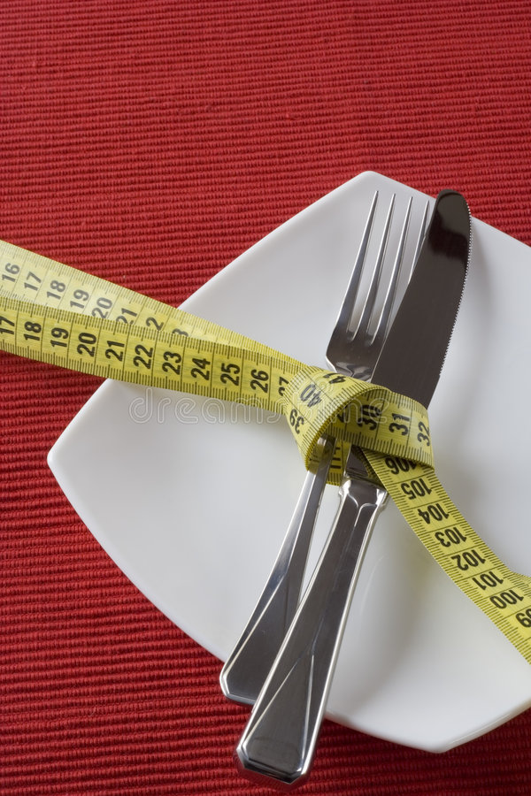 Download Controling obesity stock image. Image of calories, dining - 4189015