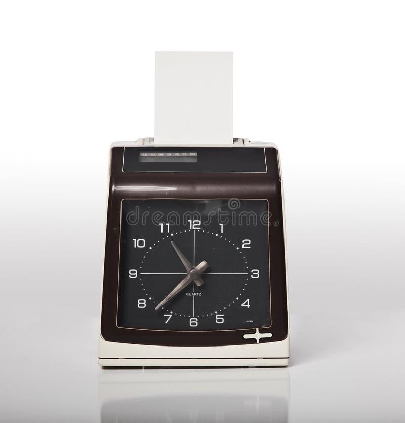 Controlli l'orologio fotografia stock