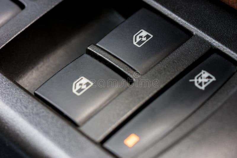 Controlli Windows ed adeguamenti fotografie stock libere da diritti