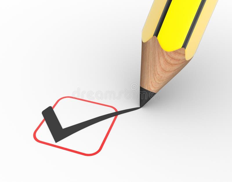 Controllo illustrazione vettoriale