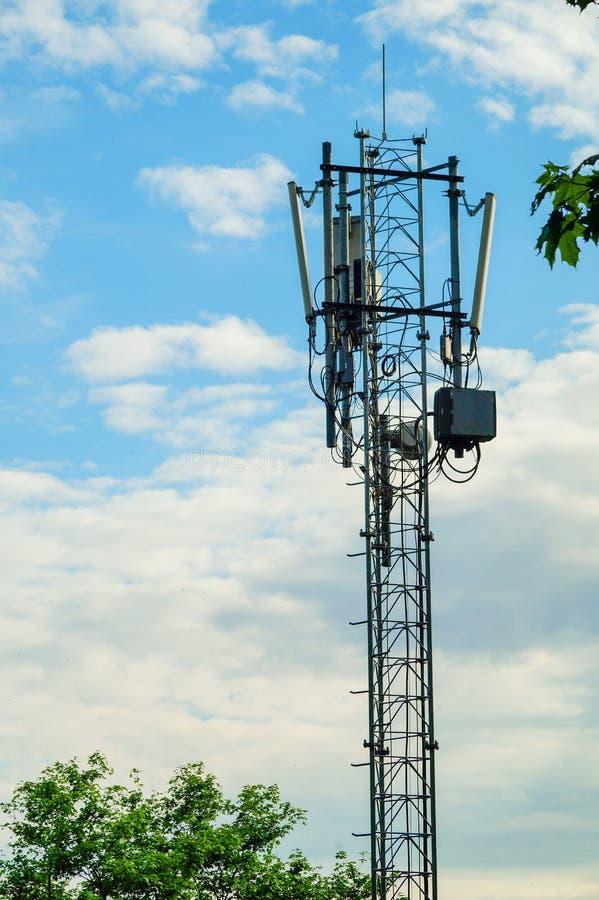 Controllo dell'insieme di navigazione delle antenne immagini stock libere da diritti