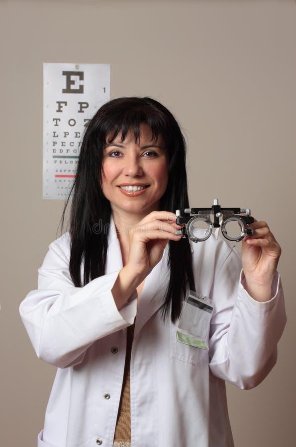 Controllo dell'occhio di visione fotografie stock libere da diritti