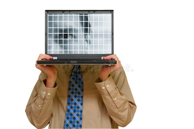 Controlo de segurança foto de stock