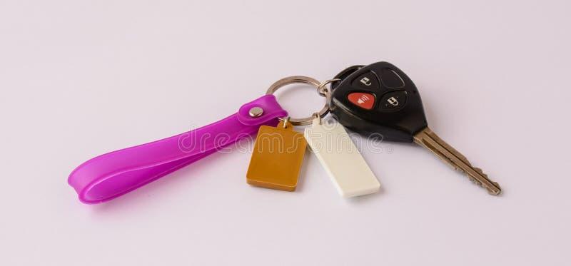 Controlo a distância de Keychain imagens de stock royalty free
