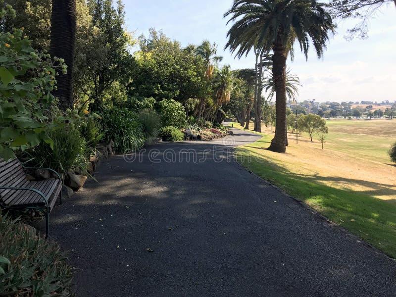 Controverse public sur le parc Footscray 6 photographie stock