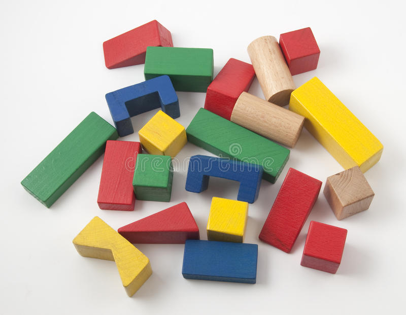 Contruction kit for kids stock image