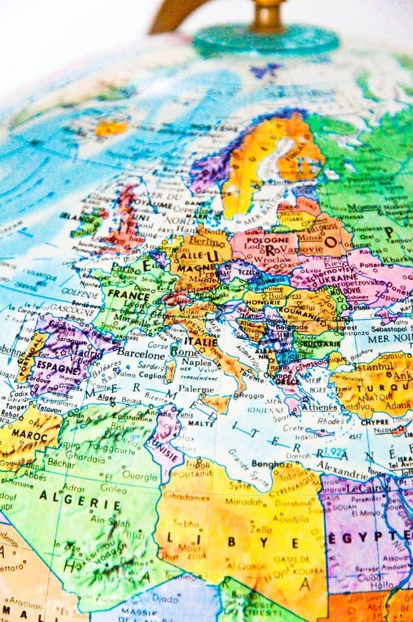 contry Europa royaltyfri illustrationer