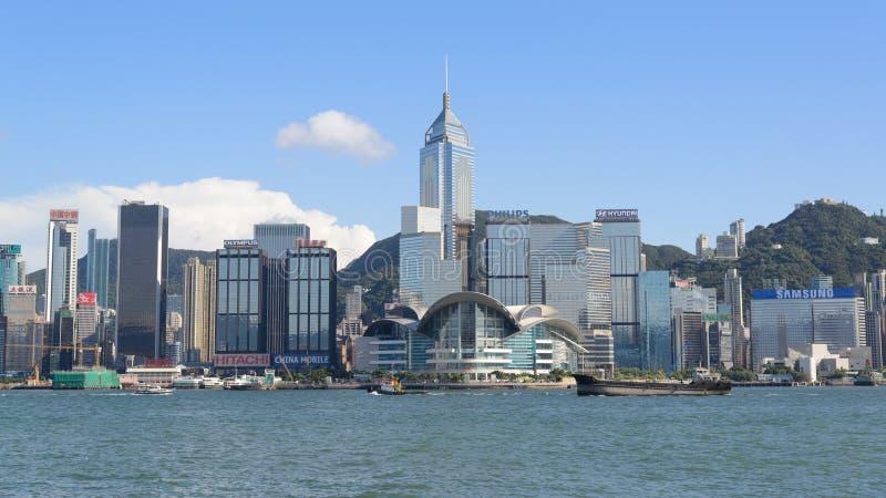 Convenção de Hong Kong e centro de exposição fotografia de stock royalty free