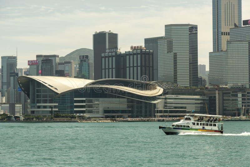 Convención de Hong-Kong y centro de exposición foto de archivo